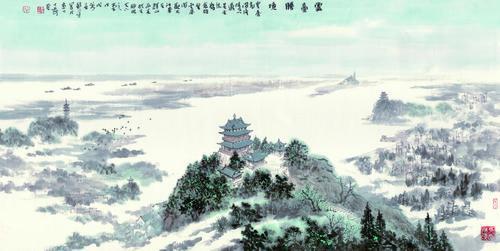 深度发现、全新表达西津渡的美 ——写在《西津十八景诗书画印作品展》开展之际