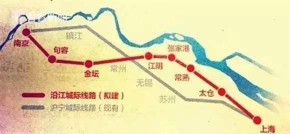 苏南沿江铁路可研报告正式获批 9月底将开工建设