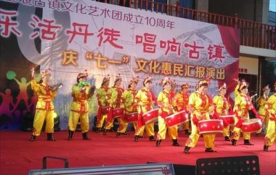 宝堰镇村民把纳凉舞跳出大名堂  曾进军省级非遗 如今抱团娱乐