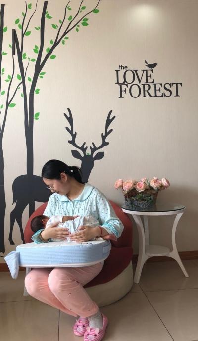 致力倡导母乳喂养,让流动的母爱不再缺席