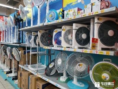 高温拉动夏日经济 镇江的空调、风扇、绿豆近期卖火了
