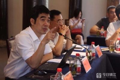 """镇江新区""""思享会""""共话化工园区与企业高质量发展"""