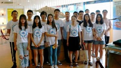 江科大环化学院志愿者:走进长江 领略长江水生生物
