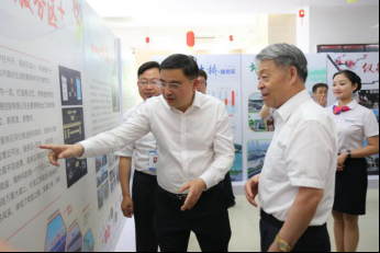 全国政协副主席、交通部党组书记杨传堂来苏调研
