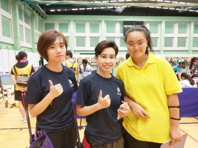 亚洲青少年室内射箭公开赛  镇江姑娘江艾嘉力夺复合弓女子组冠军