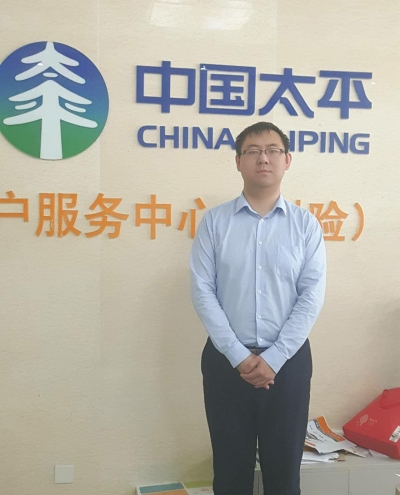 让我们成为客户的依赖——记太平财险镇江中支理赔部经理于晶鑫