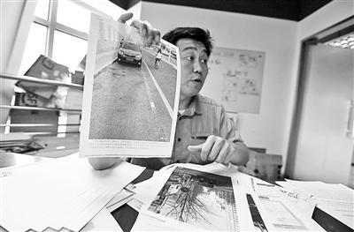 北京一市民为撤销400元罚单花2年起诉交警 三次庭审后终胜诉
