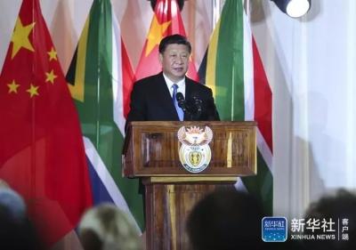 习近平今天在京会见五国领导人