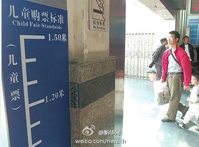 山东部分景区儿童免票线提至1米4:考虑到现实情况