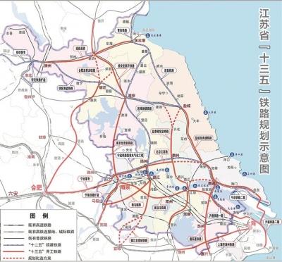 """2020年快速铁路3000公里以上 打造轨道上的""""两小时江苏"""""""