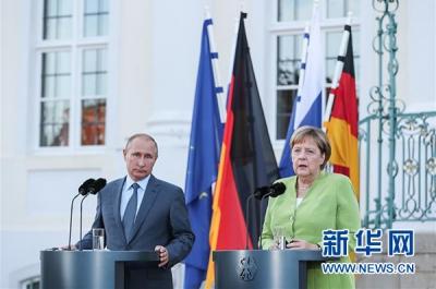 普京和默克尔四年来首次在德会晤,长达3个小时里他俩都聊了啥?