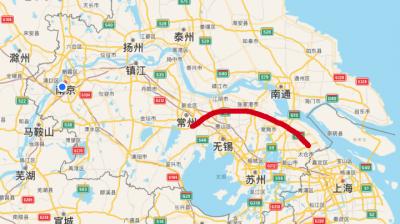 江苏首条十车道高速公路——沿江高速明年启动拓宽