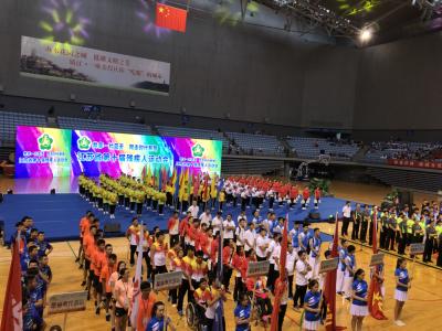 省第十届残运会镇江开幕 ,1118名残疾人运动员将同台竞技