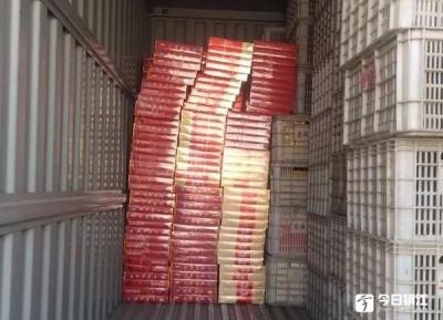 丹阳警方查获1300余条非法香烟,涉案金额70多万