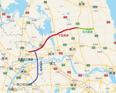 江苏中部新快速通道!宁盐、东兴、仪禄高速启动勘察设计