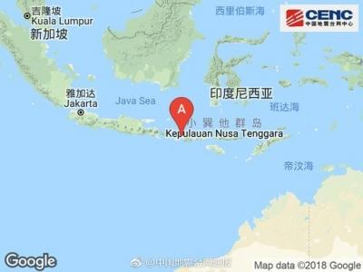 印尼龙目岛6.9级地震致10人死亡 中领馆提醒防范灾害