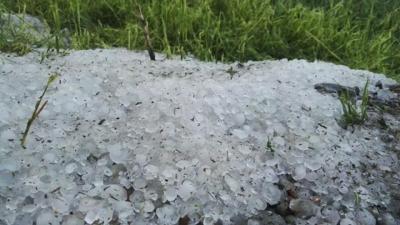 2018援疆手记⑤|从酷暑秒变雹灾,昭苏的冰火两重天