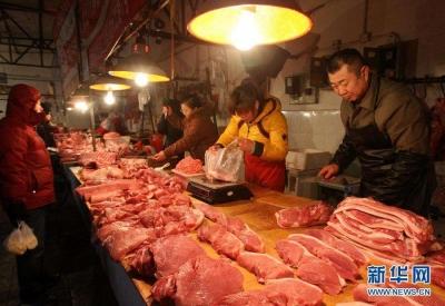 镇江猪肉价格整体上扬,后期价格可能继续走高
