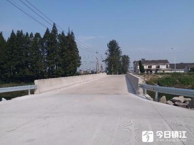 """数万村民回家不再绕""""冤枉""""路 丹阳一条河上三座桥改造完工礼献国庆"""