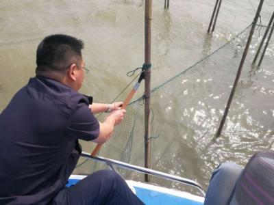 我市开展打击长江豚类省级自然保护区水域非捕执法