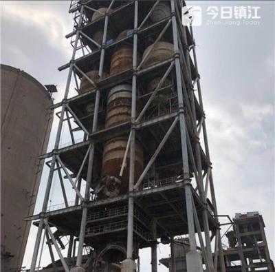 视频 | 震撼!镇江润州105米高水泥窑爆破,瞬间灰飞烟灭