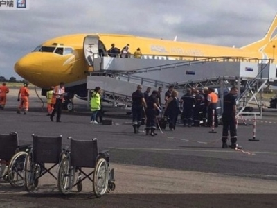 一架由阿尔及利亚奥兰飞往法国佩皮尼昂的航班疑似发现霍乱病例