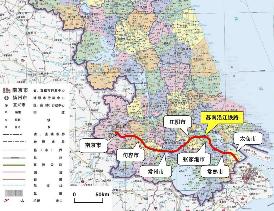 """最新!南沿江铁路初定10月上旬开工,这些地方将实现铁路""""从无到有"""""""