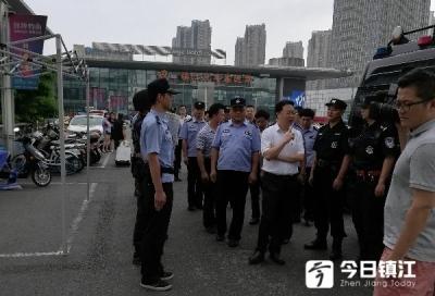 镇江市领导开展节前安全检查工作