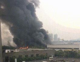镇江丹徒新城一单位发生火灾  已确认无人员伤亡