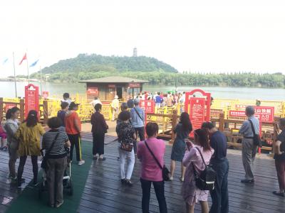 国庆节快来焦山!这里有漫山遍岛的桂花,更有远道而来的苏州盆景