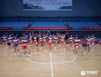 2018年镇江市中学生运动会举行
