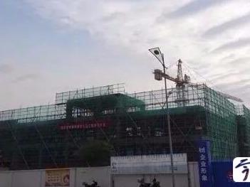 镇江句容勤学路幼儿园主体已封顶