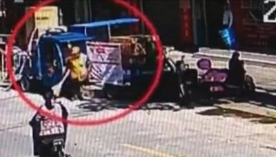 环卫工被电三轮撞倒,肇事者竟是 5 岁女童