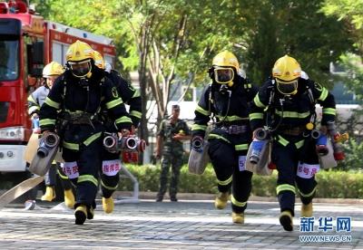 刚刚,公安消防部队移交应急管理部交接仪式正式举行