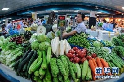 10月江苏CPI同比上涨2.9% 涨幅较9月略有回落