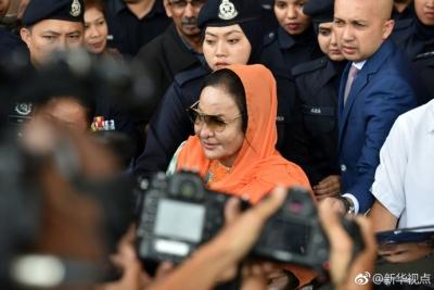 马来西亚前总理夫人今被指控洗钱、逃税等多项罪名