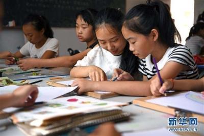 民政部数据显示:农村留守儿童少了两成多,规模最大的是四川