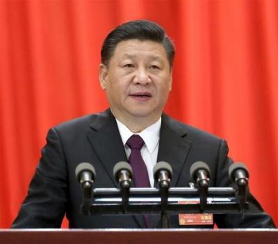 习近平和巴布亚新几内亚总理奥尼尔共同出席中国援建的独立大道移交启用仪式