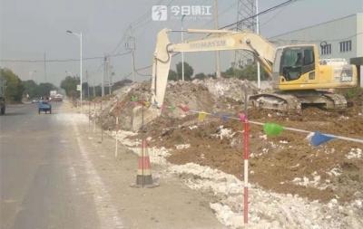 镇荣公路三期改扩建工程开工