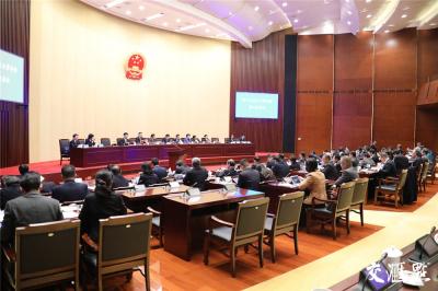 江苏省十三届人大常委会第六次会议开幕 将审议45项议程