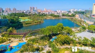 城东新增海绵公园    孟家湾湿地公园建成开放啦!