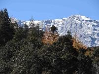 云南丽江:玉龙雪山景色美