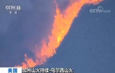 美国加州山火已致50人死 记者观察:一秒一个足球场 山火爆炸式蔓延