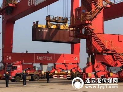 【新时代 新作为 新篇章】全省首家!连云港港上线集装箱智能理货系统