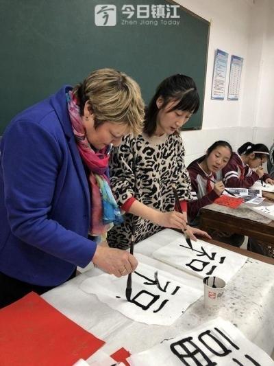 英国斯特莱斯福德中学校长到访江南学校