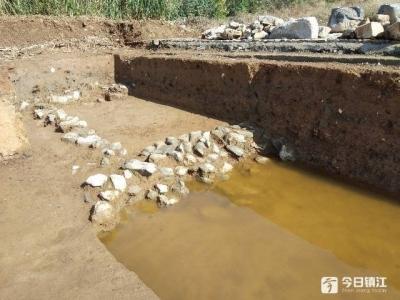 镇江市级文保单位杨一清墓水下部分露面 重要发现看这里