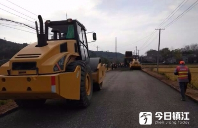 亭华线农村公路提档升级工程预计年底完成