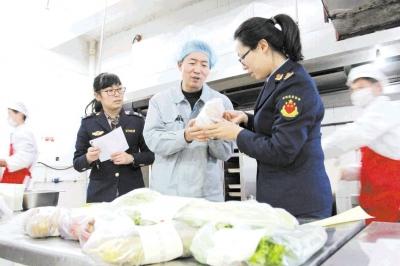 镇江市食药监局:食品安全抽检合格率98.1%  校园餐饮全合格