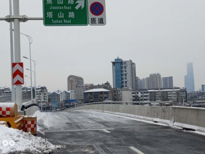 镇江市区高架全线仍在关闭状态