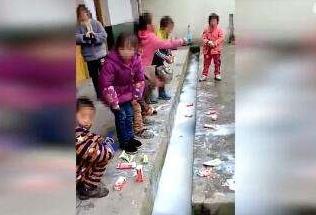 贫困县学生把牛奶倒入水沟 官方调查组能否查清原委?